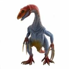 WAXSAM Jurassic Therizinosaurus Dinosaur font b toy b font Action Figure Animal Model Collection Learning Educational