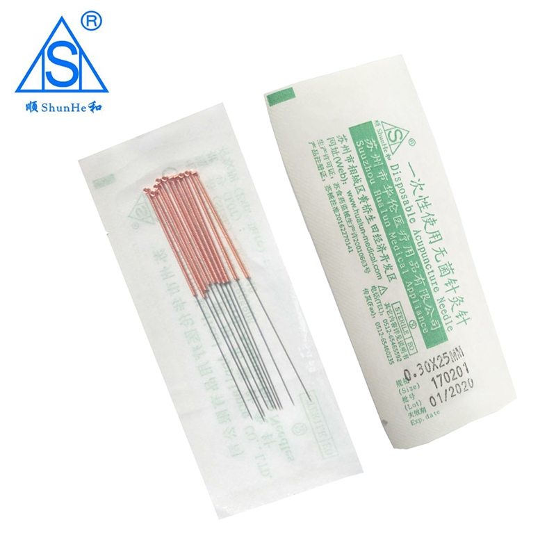 0 25x40mm 500pcs Box Chinese Traditional Acupuncture Needles Disposable Sterile Acupoint Therapy Acupuntura Asepsis Massage in Accupuncture from Beauty Health