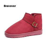 Unisex Winter Snow Boots Brand Ankle Rubber Boots Fashion Men Winter Shoes Cheap Men Winter Boots