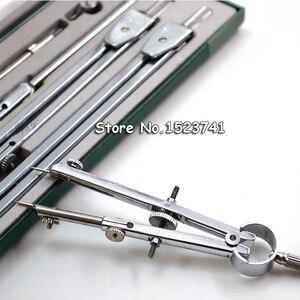Image 5 - Instrumento de dibujo mecánico H4009 auténtico, 9 unidades por juego, compás, nine suit, juegos de matemáticas, papelería de oficina