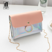 Laser Crossbody Bag For Women Womens Handbags and Purses evening clutch bags Chain Mini Shoulder Circle Small Messenger