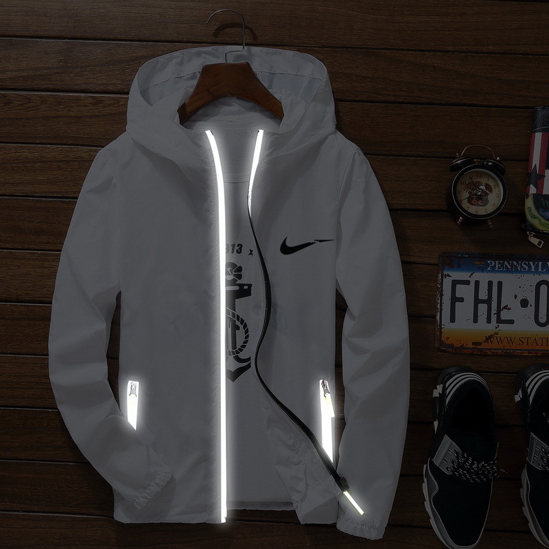 Reflective-Jacket Clothing Coat Hooded Youth Streetwear Korean JUST Summer Sun-Protection