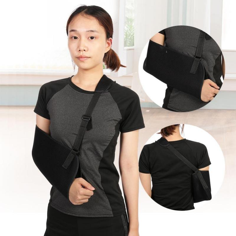 Adjustable Breathable Forearm Elbow Arm Shoulder Sling Brace Fracture Sprain Support  Arm Strap Injury Sprain Arm Brace Sling