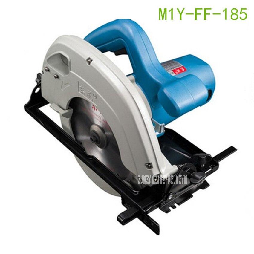 New Arrival Electric Circular Saw M1Y-FF-185 Woodworking Saws 7 inch Portable Saw Cutting Machine Power Tools 220V/50Hz 1100W цена