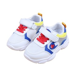 Chirldren Casual Shoes For Baby Boys Girls Breathable Mixed Color Anti-Slip Shoes Sneakers Toddler Soft Soled 1-5Y