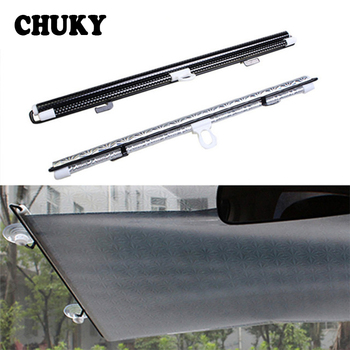 CHUKY 1X Car front window shade Cover Automatic roller blind For BMW E46 E39 E90 E60 Volvo S60 s90 xc90 s80 Peugeot 206 307 308 image