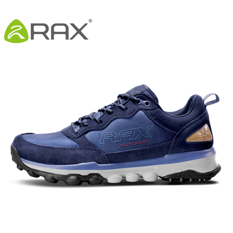 RAX Outdoor Men Hiking Shoes Breathable Sports Sneakers For Men Outdoor Women Climbing Shoes Warm Hiking Boots Trellomg Shoes rax summer hiking shoes men breathable outdoor sneakers antiskid trail mountain shoes women sports shoes durable climbing shoes