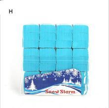 BlueMulticolor Snowflakes Paper Snow Paper Snow Storm Magic Show Magic Paper Magic Props Magic Tricks