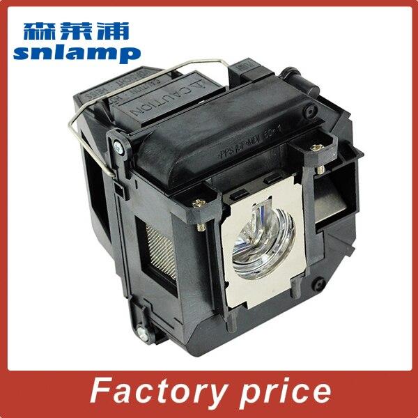 Snlamp Compatible Projector Lamp V13H010C61/ELPLP61 For EB-C2070WN EB-C1000X EB-C1020XN EB-C1040XN EB-C1010X EB-915W With Holder