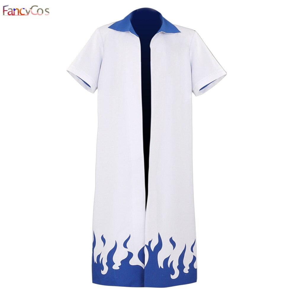 Halloween Naruto Uzumaki Naruto Blue Cloak Uniform Cosplay Costume Naruto Robes