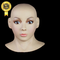 Beauty Party Mask SF 5 True Silicone mask CD change wholesale avoid Silicone Skinmask Dressing props wihtout wig