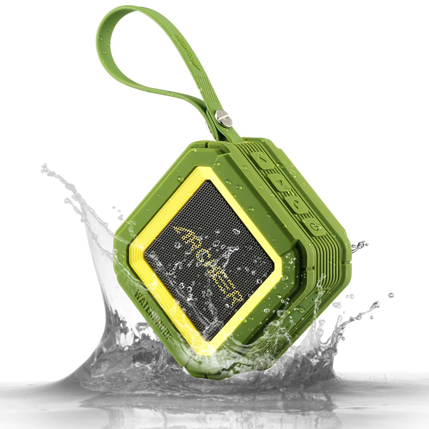 Original Archeer A106 IPX5 Waterproof Bluetooth Speaker Outdoor Portable Bluetooth Speakers with Mic For iPhone Robust Bass