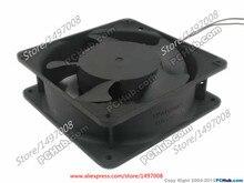 Free Shipping Emacro Ball SJ1238HA2 AC 220V-240V 0.13A 2-wire 2-pin 100mm 120X120X38mm Server Square cooling fan