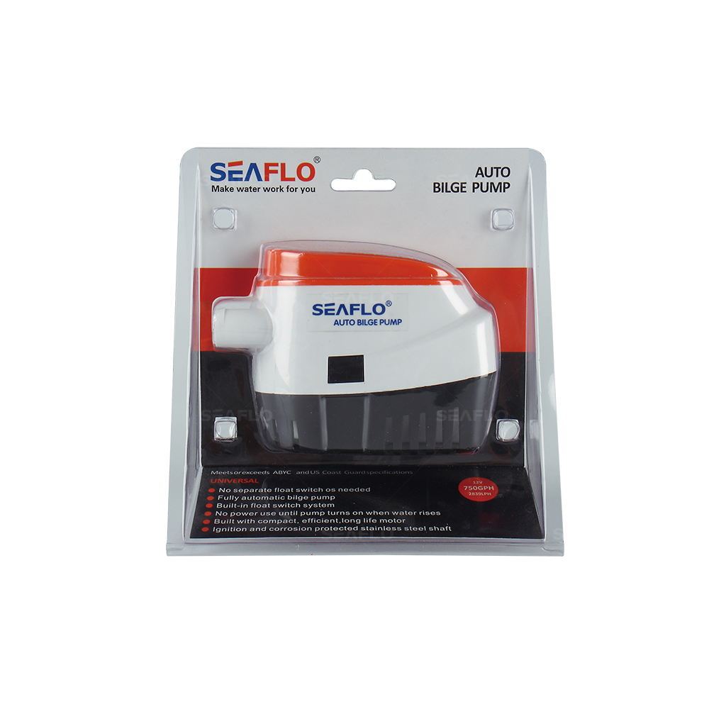SEAFLO Automatic Bilge 12v Water Pump 3a 12volts 750 GPH Replace Shurflo Electric Pump For Inflatable Boat Marine RV Camper