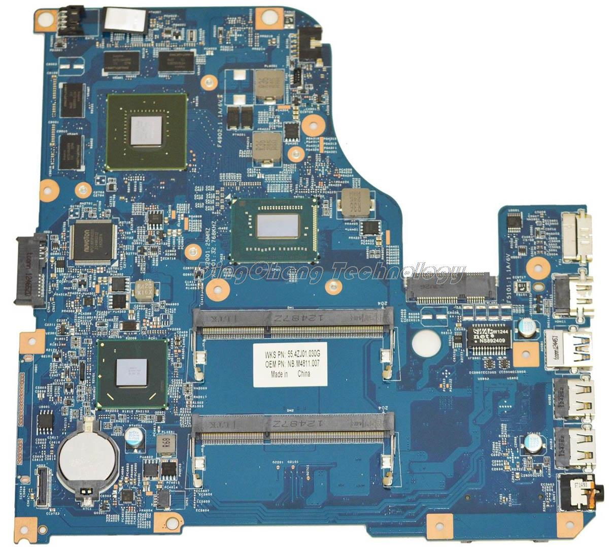 SHELI laptop Motherboard For Acer V5-571G V5-531G 11309-4M 48.4TU05.04M non-integrated graphics card 100% fully tested