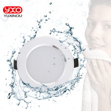 4 pcs 디 밍이 가능한 방수 led 조명 5 w 7 w 9 w led 통 따뜻한 화이트/차가운 흰색 야외 led 천장 조명 욕실 전구
