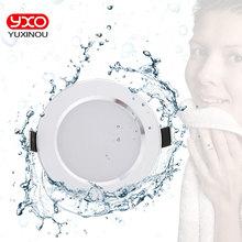 Светодиодный водонепроницаемый потолочный светильник, 4 шт., 5 Вт, 7 Вт, 9 Вт, теплый белый/холодный белый Светодиодный светильник для ванной комнаты