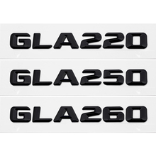 Rear Trunk Emblem Badge Sticker For Mercedes Benz GLA Class GLA220 GLA250 GLA260 W156 W203 W211 W210 W212 Chrome Number Letters