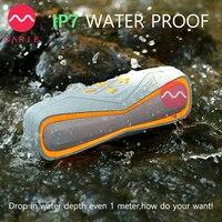 OARIE Portátil Inalámbrico Bluetooth 4.1 Altavoz, Altavoz RESISTENTE AL Agua IPX7, Estéreo, cubierta Suave, resistencia de la gota para Los Deportes Al Aire Libre