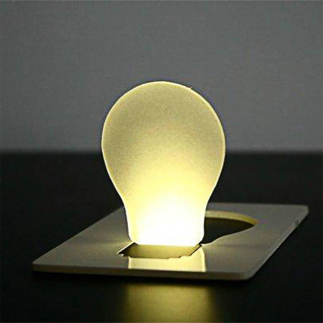 Mini Portable Pocket LED Card Light Lamp