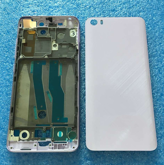 Axisinternational для <font><b>Xiaomi</b></font> <font><b>MI5</b></font> M5 Mi 5 передняя рамка Mi ddle рамка + 3D стекло задняя крышка батареи + боковые клавиши черный/серебристый /Золотые/prupl