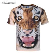 3d Animal Printer T-shirt Men Funny T Shirts Short Sleeve T Shirt Men Kanye West Tshirt Camisa Masculina Tee Shirt Homme 3XL