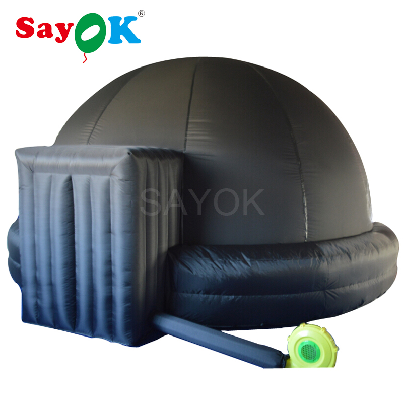 2018 New design inflatable projection dome tent inflatable