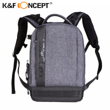 K&F CONCEPT Camera Backpack Padded Photo Bag Case for Canon for Nikon for Sony all DSLR SLR Camera 2 colors free shipping