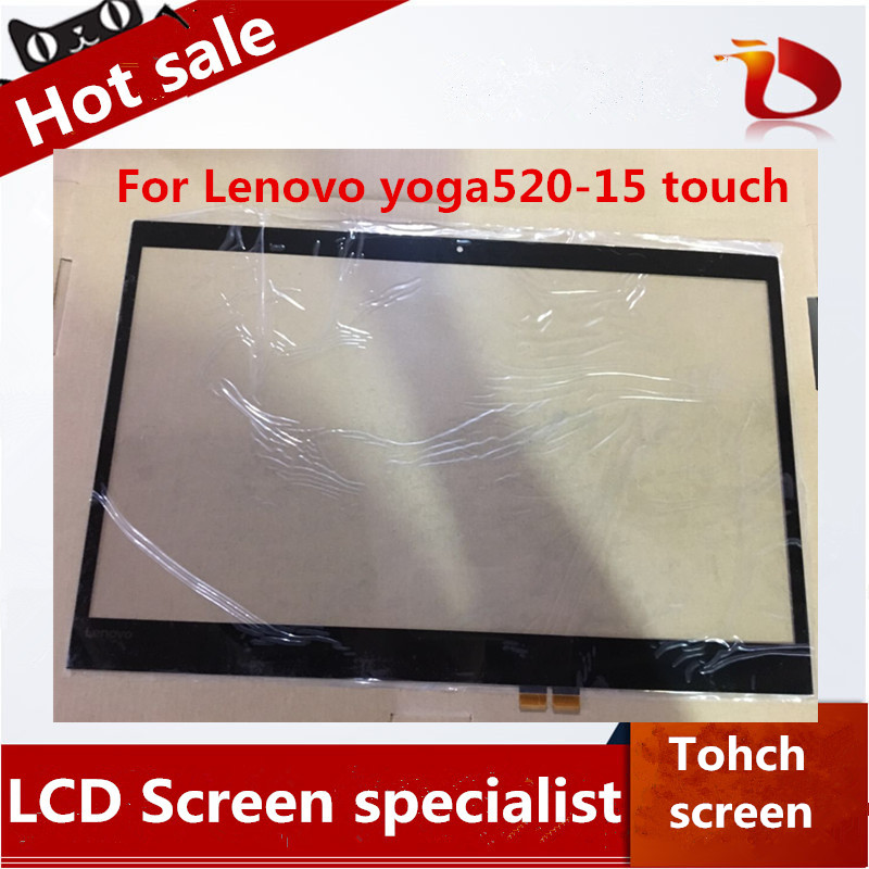 Brand New A+ original laptop touch 15.6 inch For lenovo Yoga520-15 Flex5-15 Digitizer Touch Screen Glass Repair Replacement