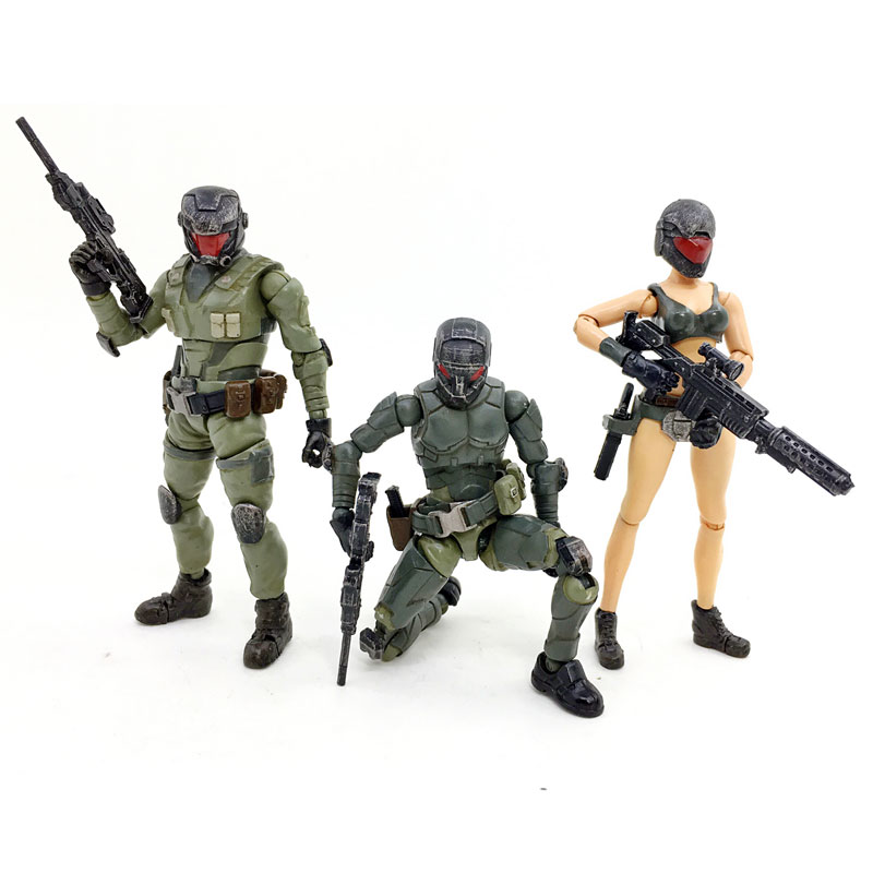 JOY TOY  1:27 action figure  the 4rd generation Steel Ride Corps woman one team and female soldiers (2 sets) model toys кий cuetec action rd 2pc рп cr1102 rd