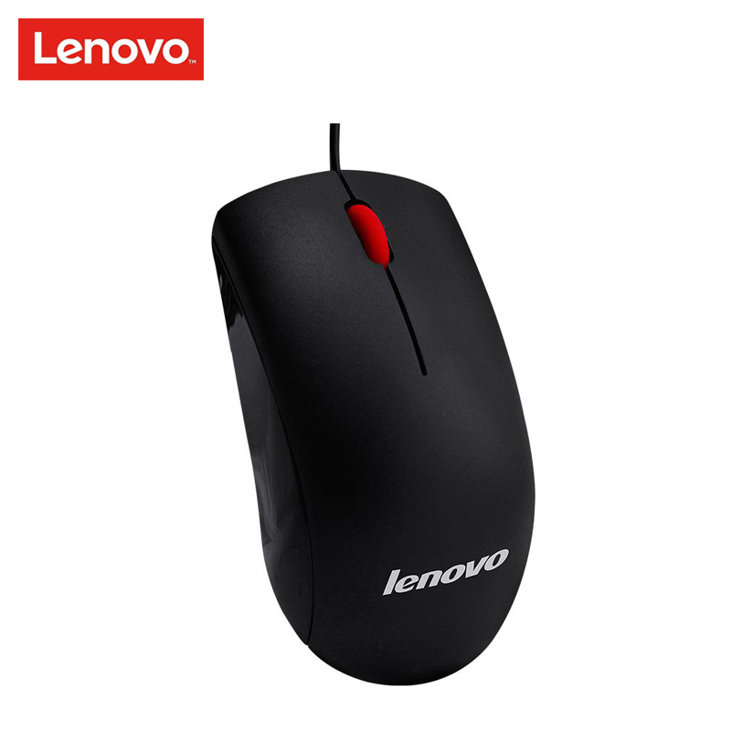 Lenovo M120 Optical Wheel Mini 3D Wired Gaming Mouse 1000DPI for PC Laptop Desktop Black Gmaer Support Official Verfification