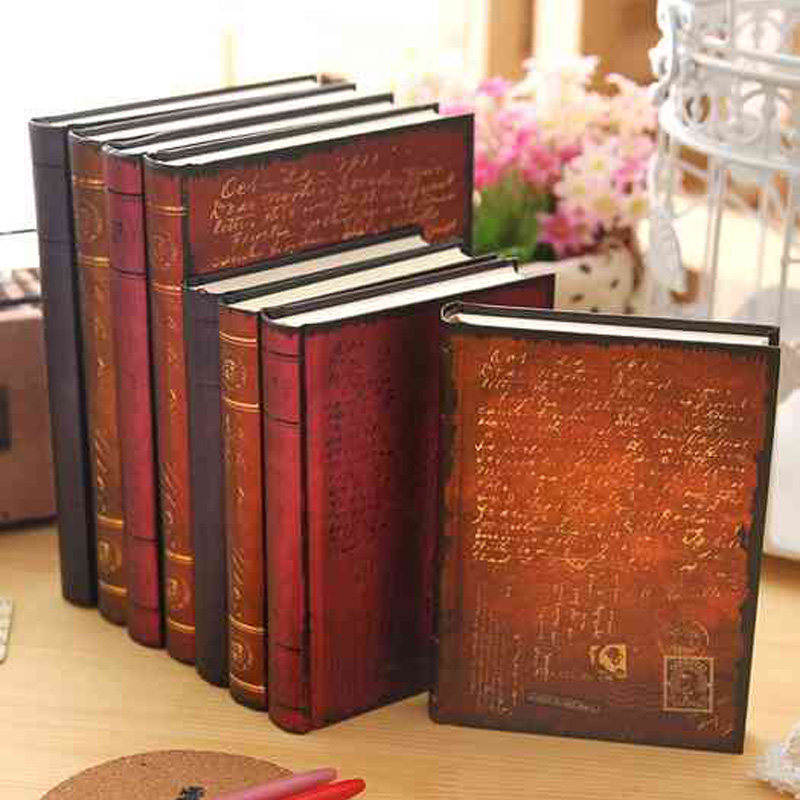 To Reproduce the Classic Notebooks Vintage Hardcover Notebook Creative Hot Stamping Notebook School Stationery Supplies Gift classic notebook vintage