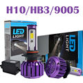 Taitian LED Headlight Bulbs Kit - 9005 HB3 H10- 60w 6,000Lm 6K Cool White - 3K Yellow color Fog DRL Light Source Driving Bulbs