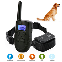 Beep/Vibration/Electric Training Collar for Cat Dogs USB Remote Contral Dog Anti Bark Shock Collar Waterproof Bark Deterrents