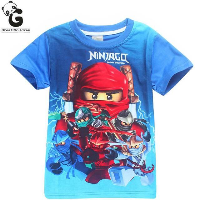 Мальчики футболки Бобо Выбирает Мальчик Рубашки Детская Одежда Legoe ninjago футболка для мальчика мультфильм костюмы мальчики polo рубашка дети одежда футболки для мальчиков футболка для мальчика футболка детская