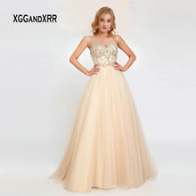 XGGandXRR Elegant Light Prom Dress 2019 Evening Dress