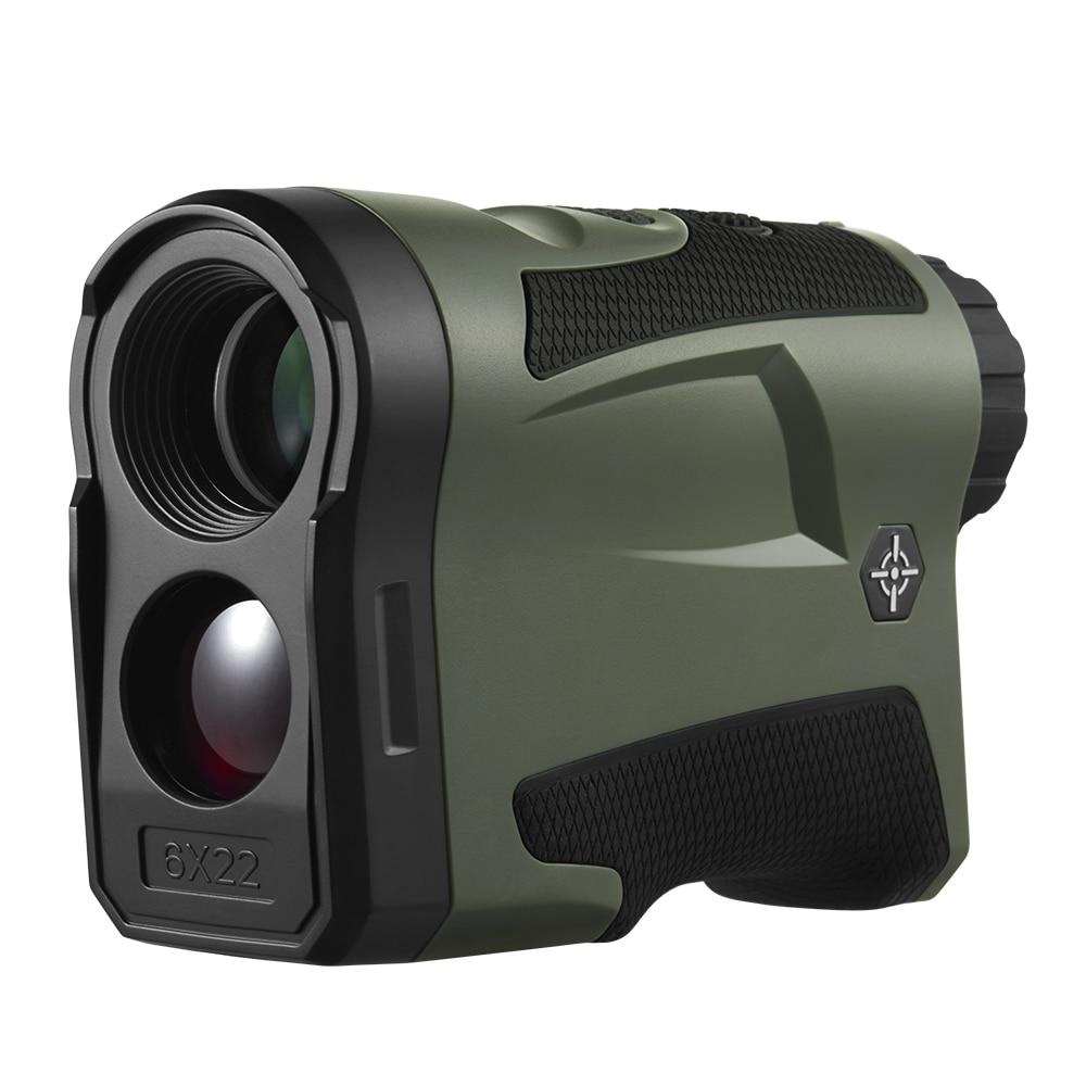 BIJIA 6X22 2500m Distance Telescope Laser Rangefinder for Hunting Golf Laser Range Finder with Height and