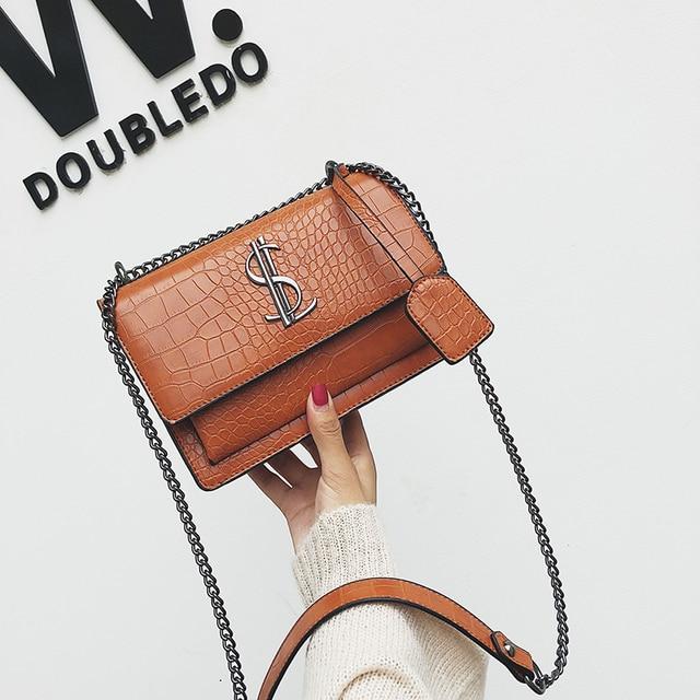 2019 luxe célèbre marque femmes sacs concepteur dame classique Plaid épaule bandoulière sacs en cuir femmes sacs à main de messager
