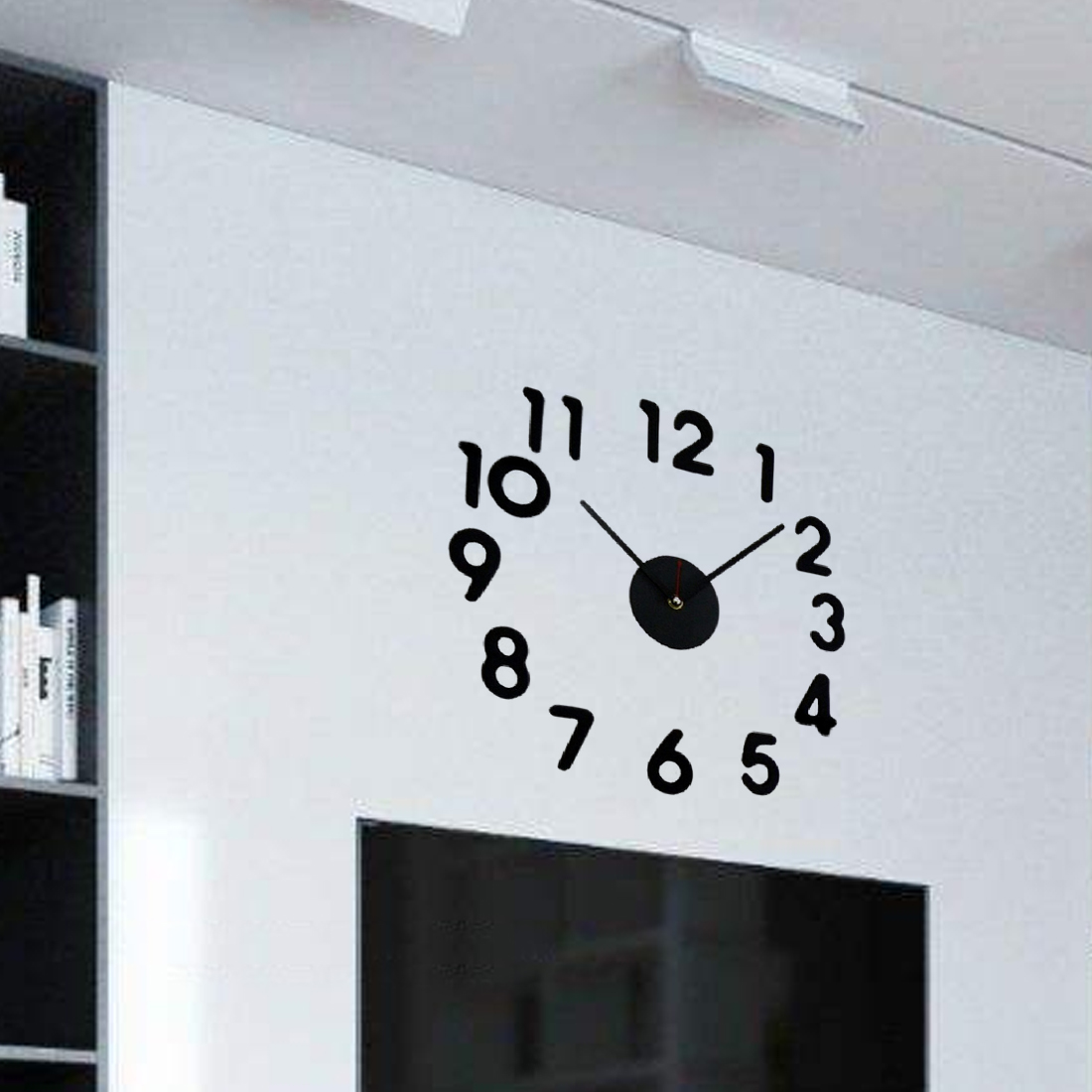 Home Decoration Modern Design Clock Watch Wall Clocks Horloge 3D DIY Acrylic Mirror Stickers Living Room Decor Quartz Needle