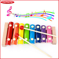 Children Baby Musical Toy Xylophone Wisdom Development Wooden Instrument Improve Kid Sensitive To Colors Sounds Music