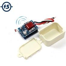 35 Вт 220 В светильник, Датчик управления, переключатель в коридор, внутренний радар, микроволновая потолочная лампа, автоматическая установка, автоматическое включение
