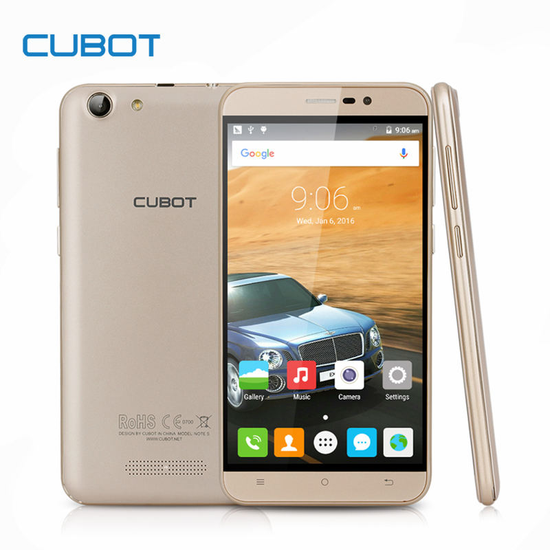 Cubot Note S 4150mAh Battery font b Smartphone b font 5 5inch HD Screen Android 6