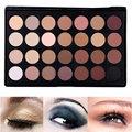 Profesional 28 color nude sombra de ojos maquillaje cosmético sombra de ojos paleta de camuflaje de concealer palette