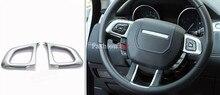Para Land Rover Range Rover Evoque 2011-2016 Interior volante ajuste de la cubierta 2 unids