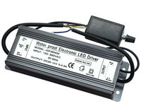 IP67 Waterproof 150W Dimmable Constant Current LED Driver With Dimmer, AC to DC25V 36V 0 4.5A