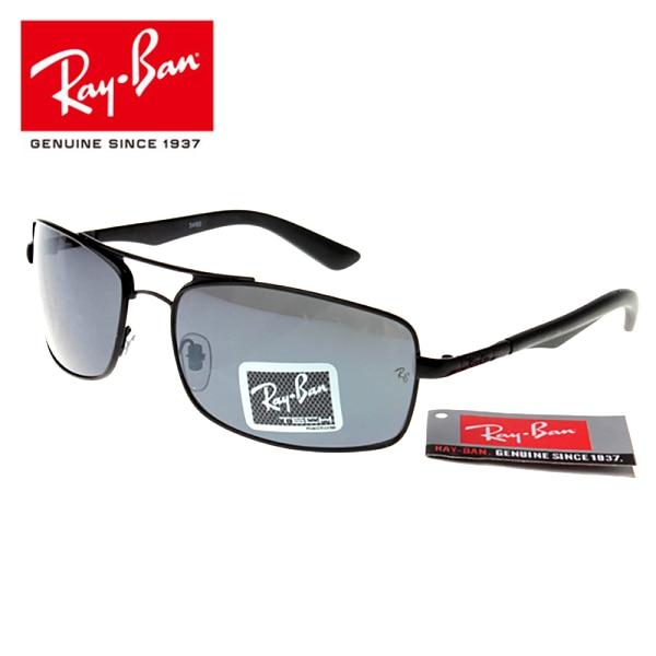 Originale RayBan di Marca RB3460 All'aperto Glassess, Da Trekking Occhiali RayBan Uomini/Donne Retro Confortevole 3460 Protezione UV Occhiali Da Sole