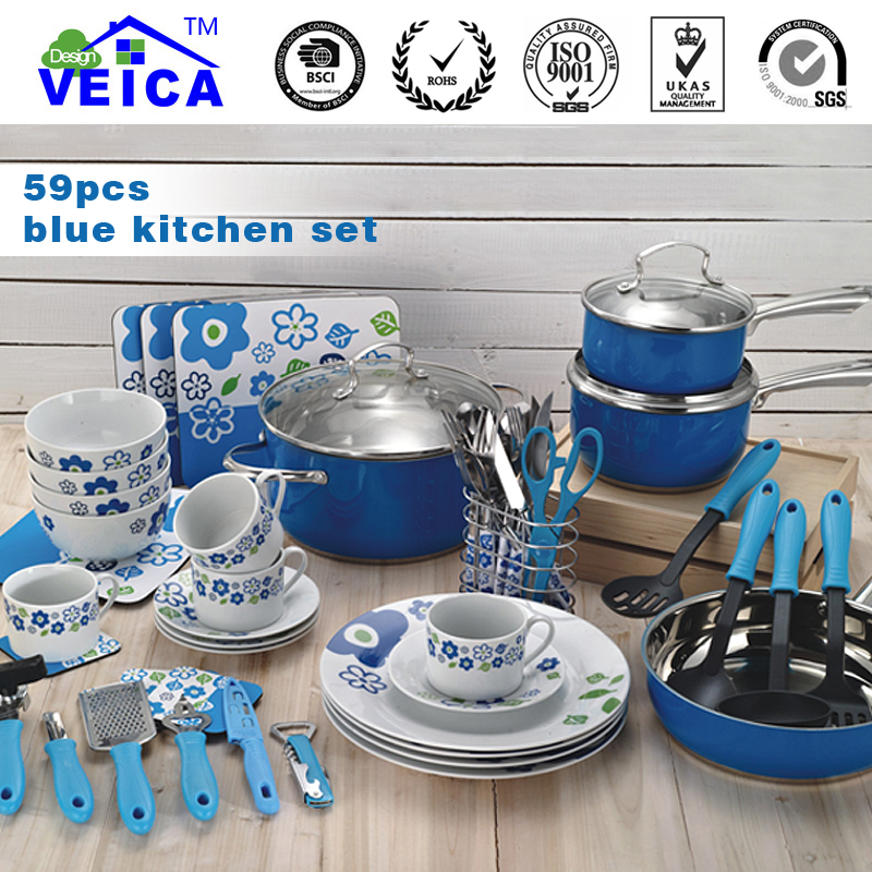 Kitchen Set For Sale: 2018 New Casserole Aluminum Cookware Cooking Pots And Pans