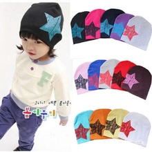 Baby Hat Kids Caps 2016 Autumn Winter Baby Boys Hat One Star Print Infant Children Hats Toddler Costume Baby Beanies Accessories