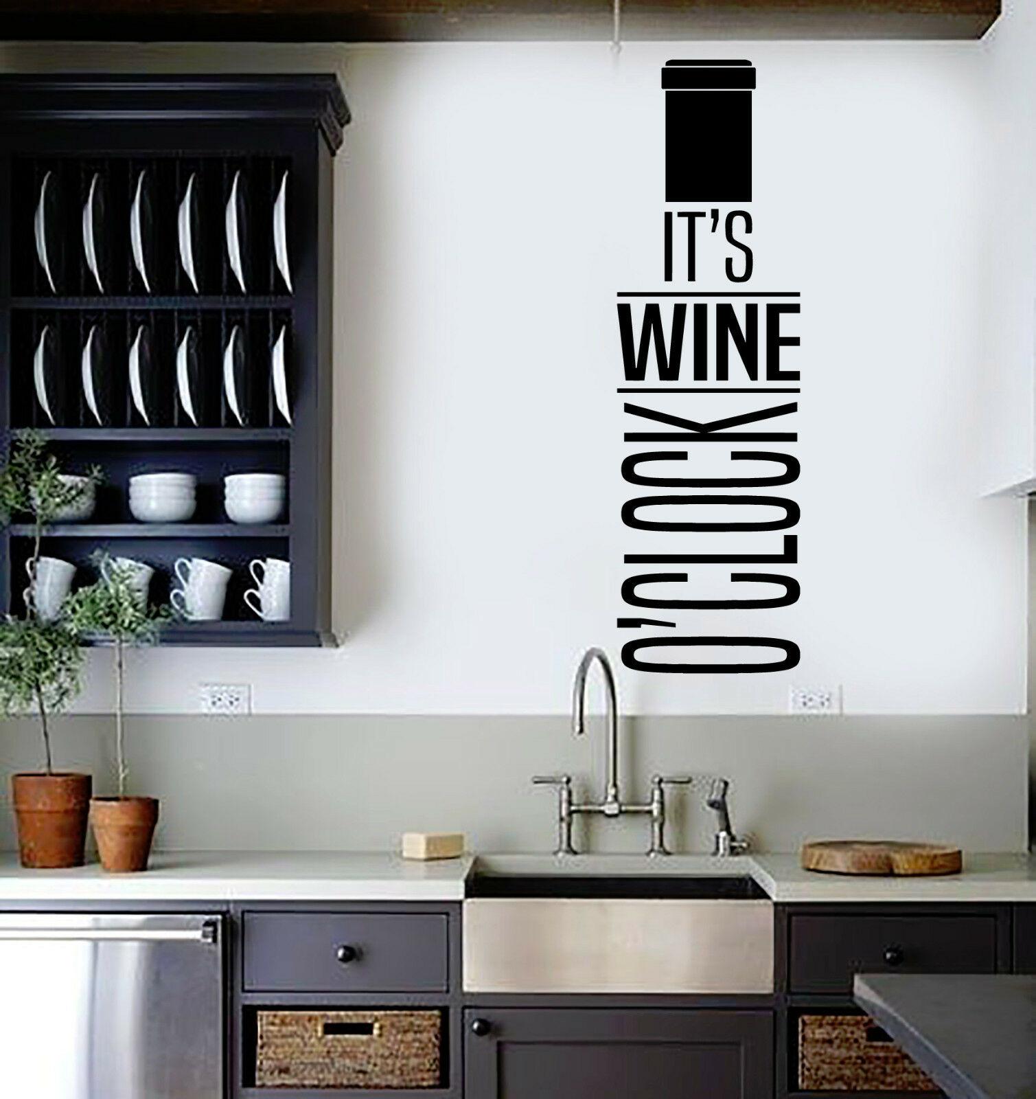 vin wone bouteille citation stickers muraux bar restaurant decor cuisine stickers muraux mural amovible chambre decoration accessoires z101