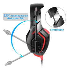 Buy ONIKUMA K1-B Gaming Headset Over Ears Durable & Flexible Stretchable Headphones with Microphone Earphone for PC for PS4 directly from merchant!